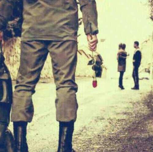 عکس شکست عشقی بعد خدمت سربازی