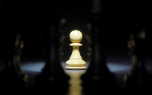 عکس پروفایل سرباز در صفحه شطرنج