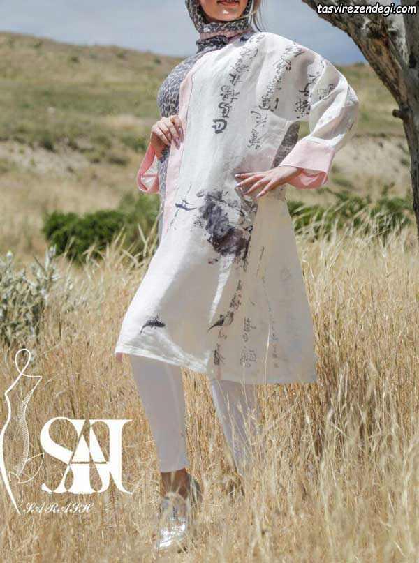 مدل مانتو دخترانه تابستانی