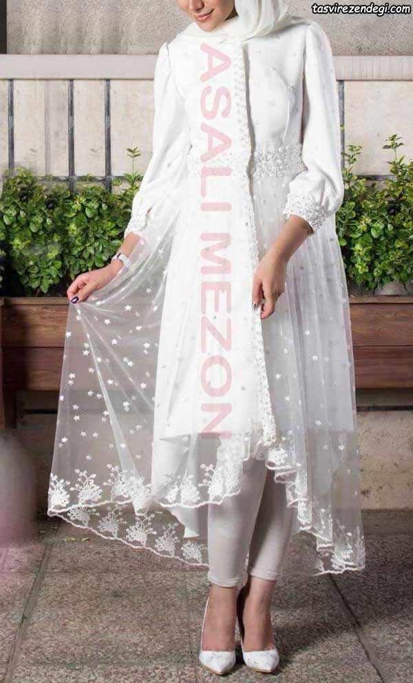 مدل مانتو نامزدی, مانتو سفید عروس