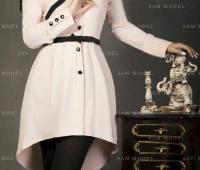 مدل مانتو کوتاه دخترانه جدید