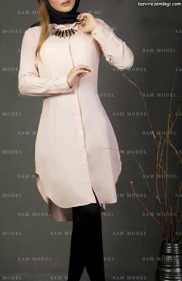 مدل مانتو کوتاه دخترانه