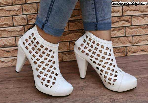 کفش سفید مجلسی , کفش مجلسی زنانه