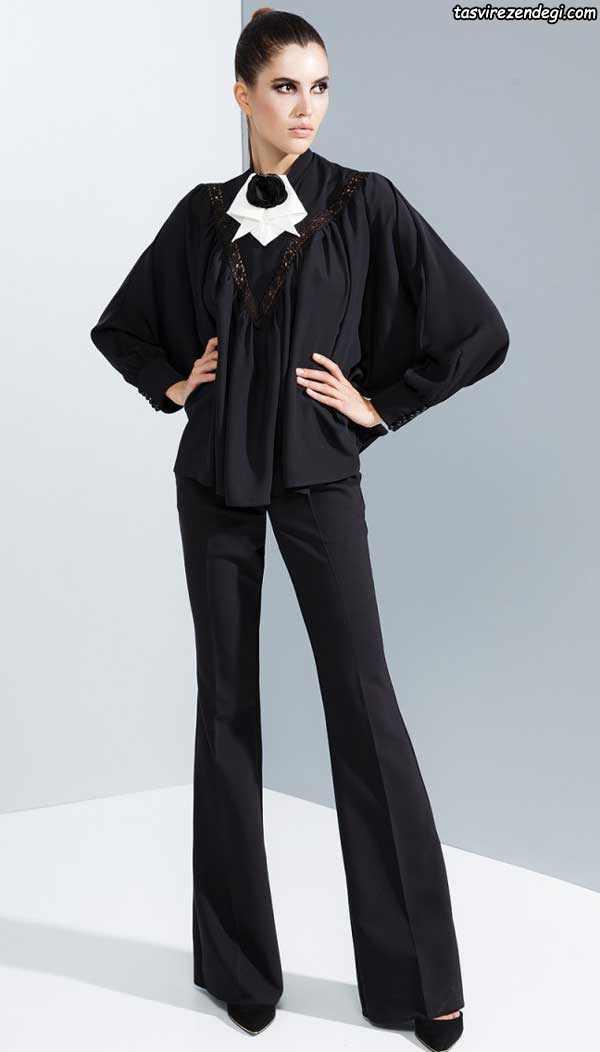مدل بلوز شلوار مجلسی زنانه دخترانه