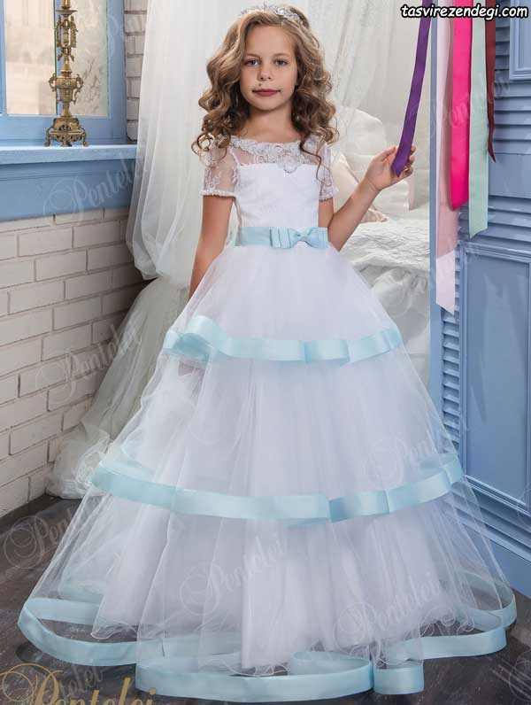 پیراهن پرنسسی بچگانه