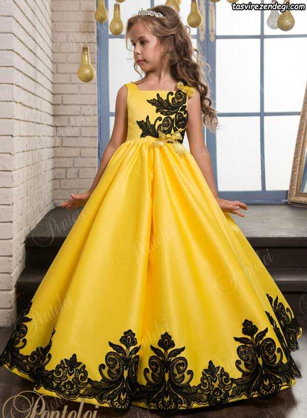 لباس مجلسی بچگانه دخترانه