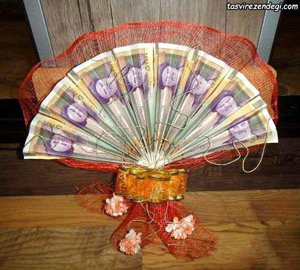 تزیین پول سفره عقد