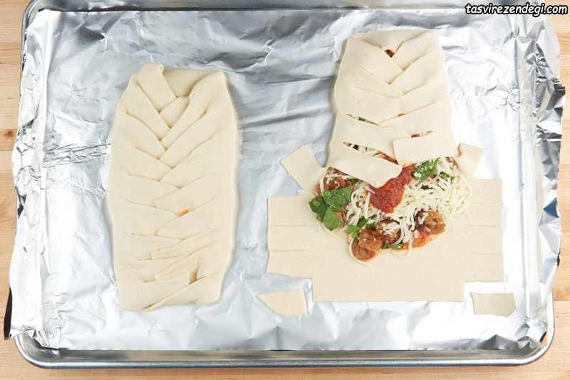 طرز تهیه استرامبولی ایتالیایی