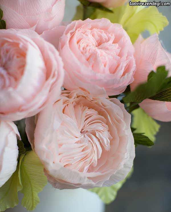 آموزش ساخت گل رز ژولیت