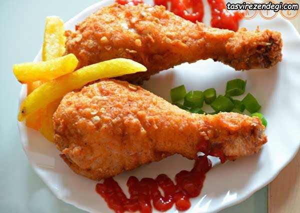 آموزش پخت مرغ کنتاکی KFC خانگی