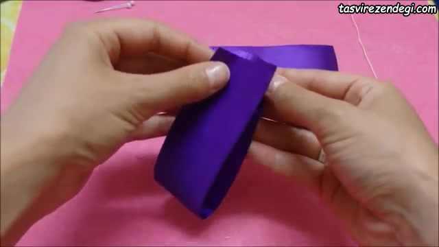 ساخت پاپیون برای تزیین کلیپس