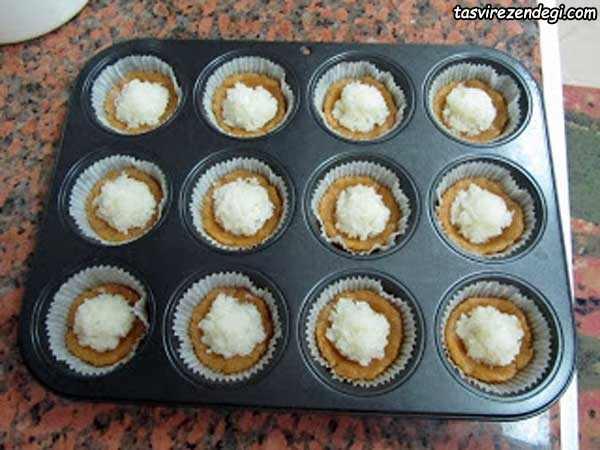 شیرینی تارت نارگیلی