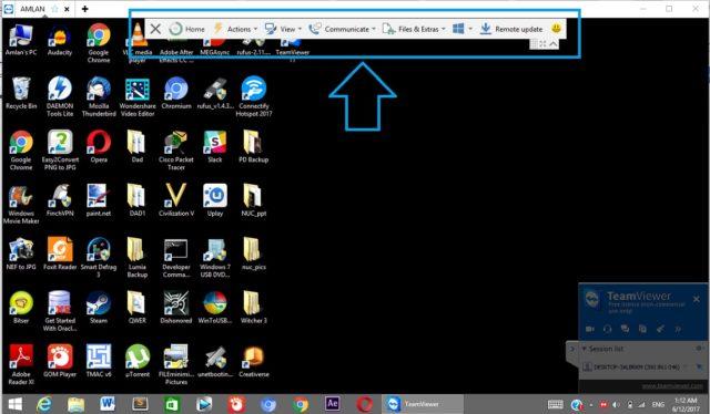 آموزش استفاده از نرم افزار TeamViewer