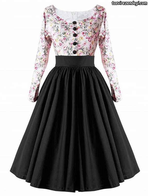 مدل لباس مجلسی مشکی, پیراهن مجلسی دخترانه