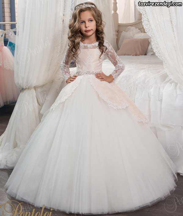 مدل لباس عروس بچگانه جدید