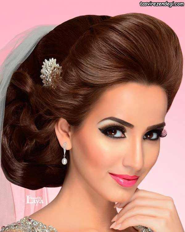 مدل موی هندی, آرایش عروس هندی
