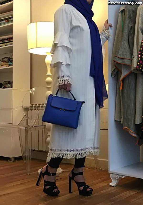 مدل مانتو مجلسی تابستانی شیک دخترانه