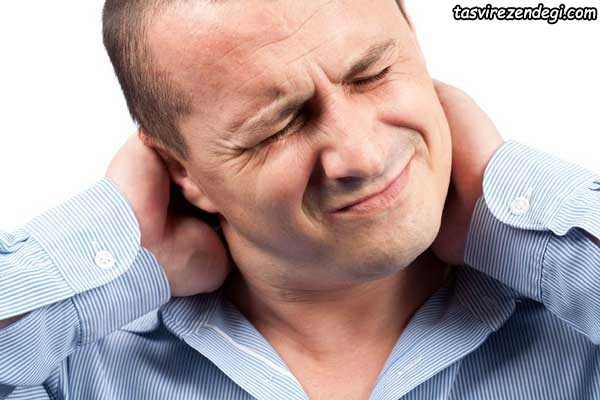 کاهش درد گردن,درمان گردن درد