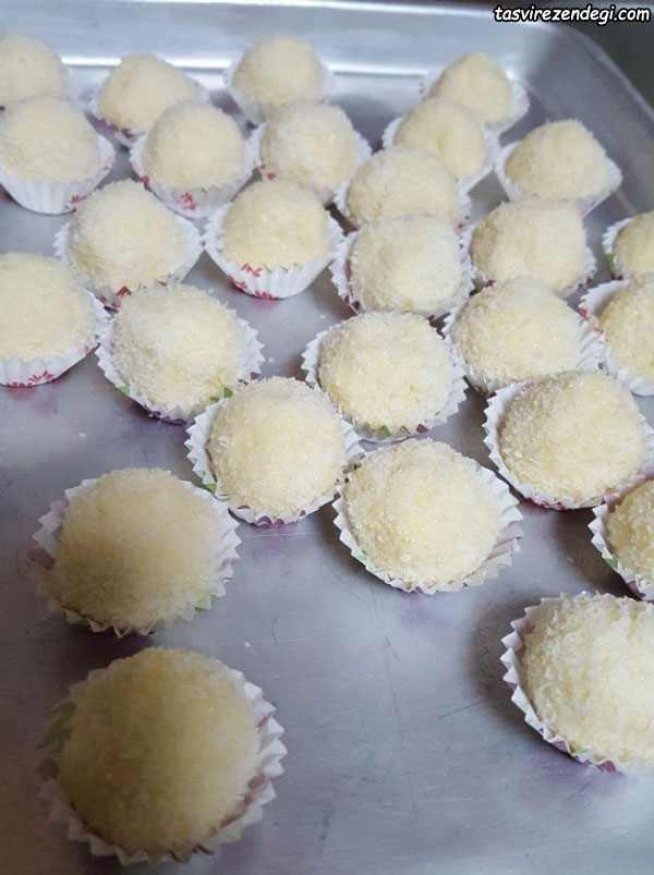 طرز تهیه شیرینی رافائلو