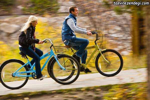 دوچرخه سواری , کالری سوزی سریع