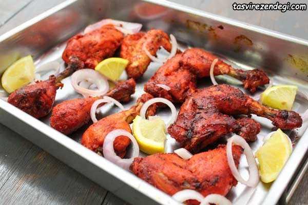 مرغ تندوری هندی