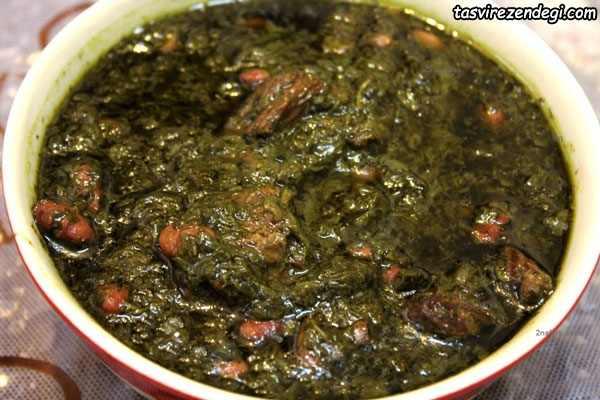 غذاهای نذری, قرمه سبزی
