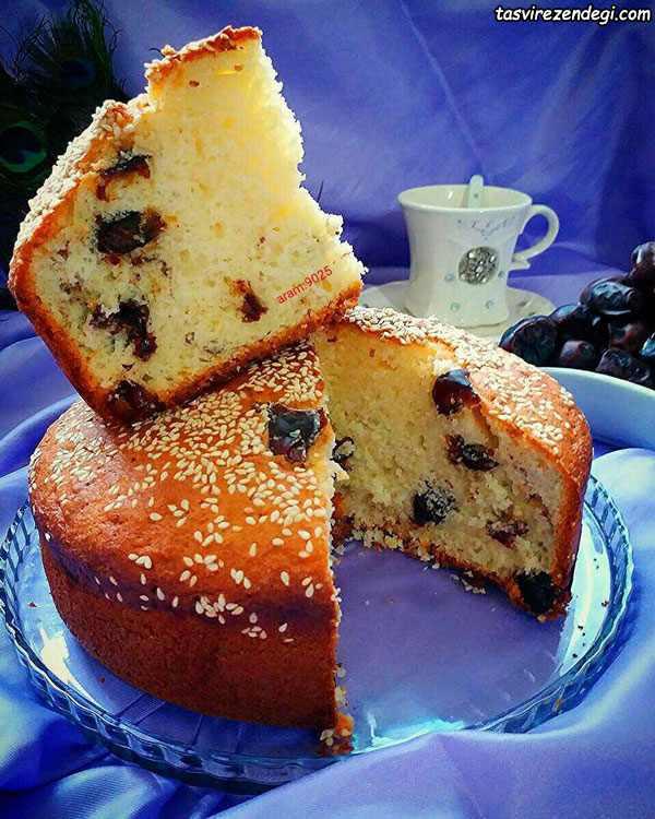 کیک خرمایی