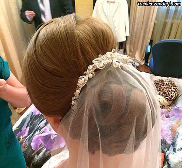 شینیون موی عروس جدید