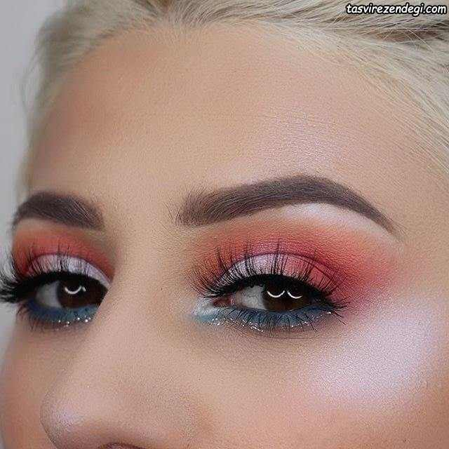 آرایش چشم مجلسی زیبا