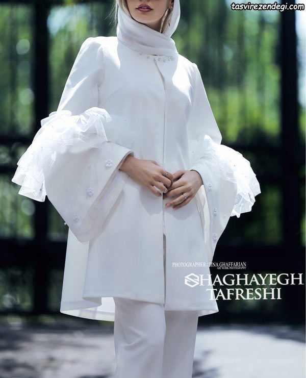 مدل مانتو مجلسی زیبا عروس