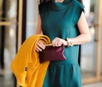 ترکیب رنگ لباس پاییزی