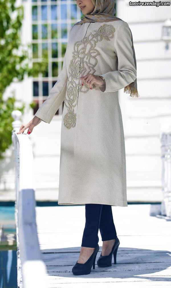 مدل مانتو رسمی مجلسی شیک