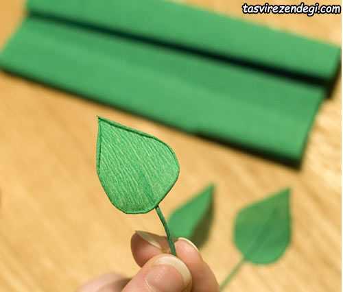 آموزش گلسازی با کاغذ, ساخت شکوفه گیلاس