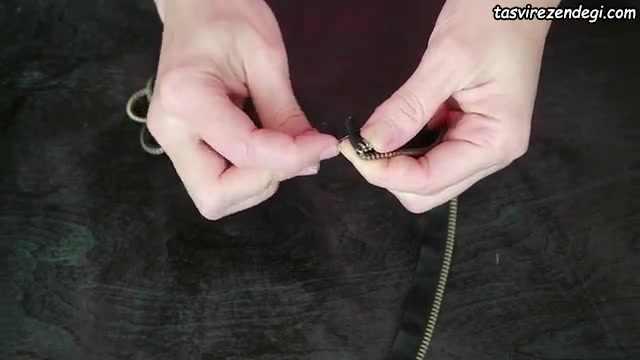 آموزش ساخت گل رز با زیپ