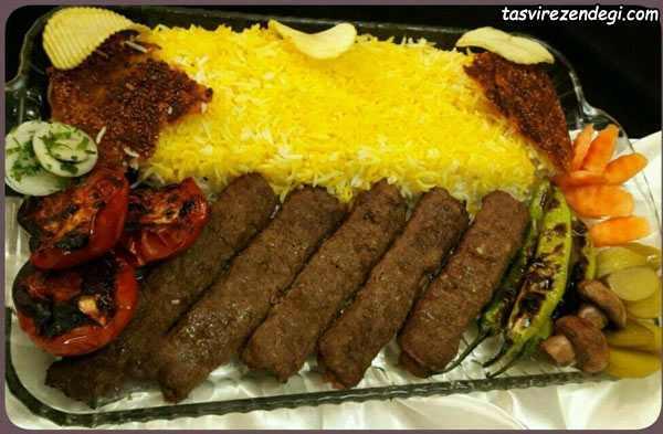 کباب کوبیده مجلسی