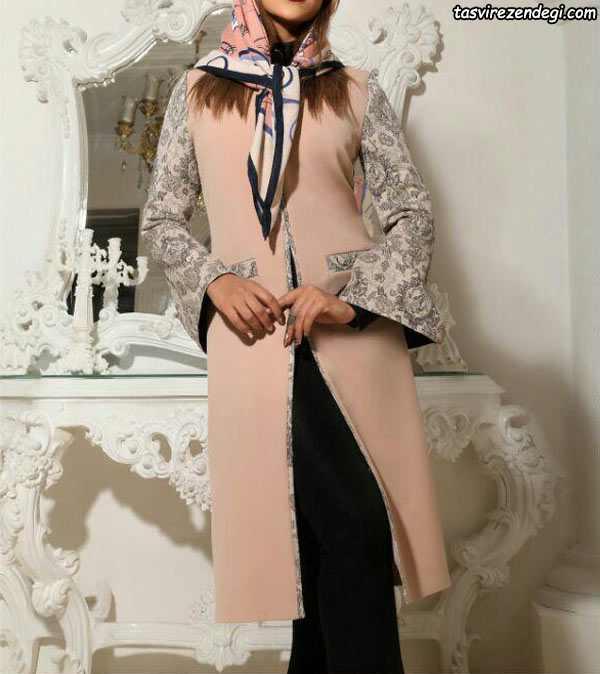 مدل مانتو مجلسی کتی دخترانه
