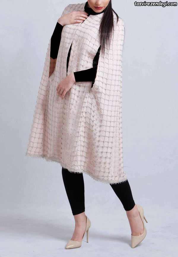 مدل مانتو شنلی مجلسی دخترانه
