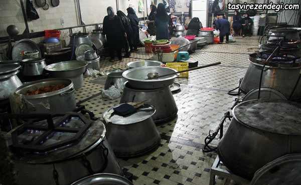پخت غذاهای نذری
