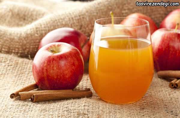 نوشیدنی سم زدای ,شربت سرکه سیب