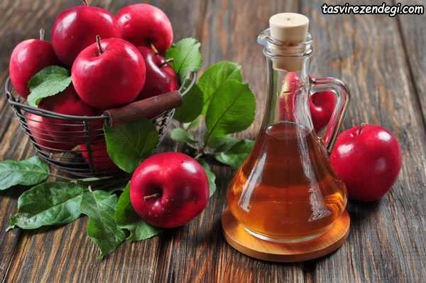 کاربرد سرکه سیب , فواید درمانی سرکه سیب