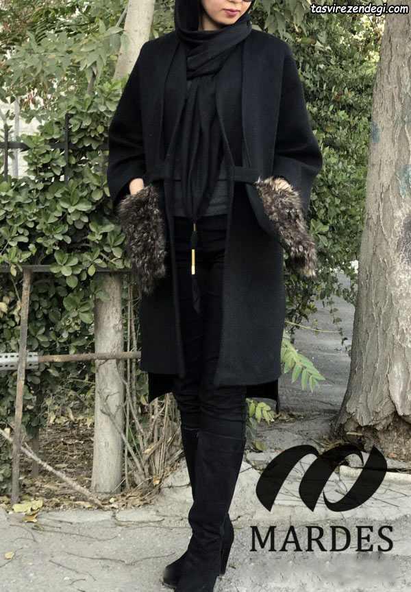مدل مانتو پاییزه کیمونو شیک
