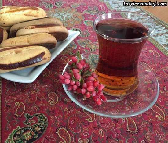 طرز تهیه چای زرشک