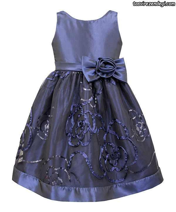 مدل لباس مجلسی بچگانه دختر