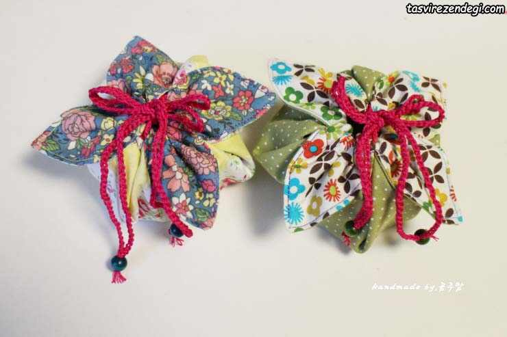 آموزش خیاطی, دوخت کیف هدیه پارچه ای