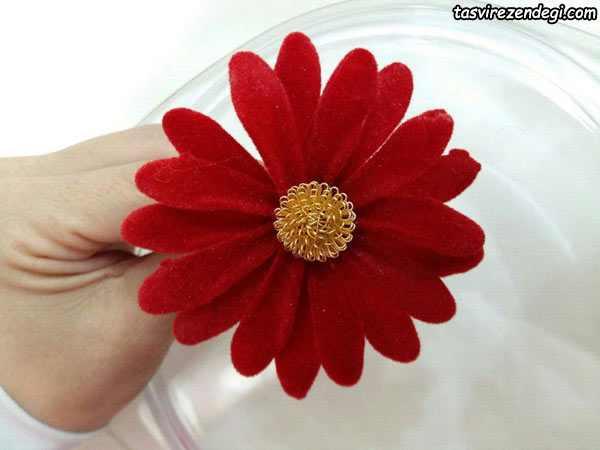 آموزش ساخت گل مارگریت