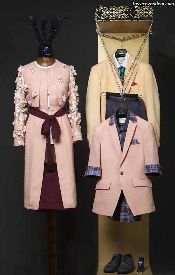 ست لباس مجلسی زنانه و مردانه