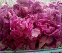 مربای گل محمدی با گل تازه