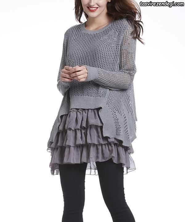 مدل لباس تونیک دخترانه خانگی