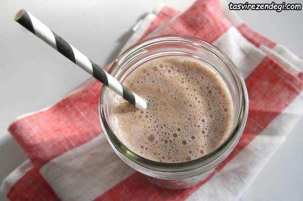 طرز تهیه نوشیدنی نذری , شیر کاکائو