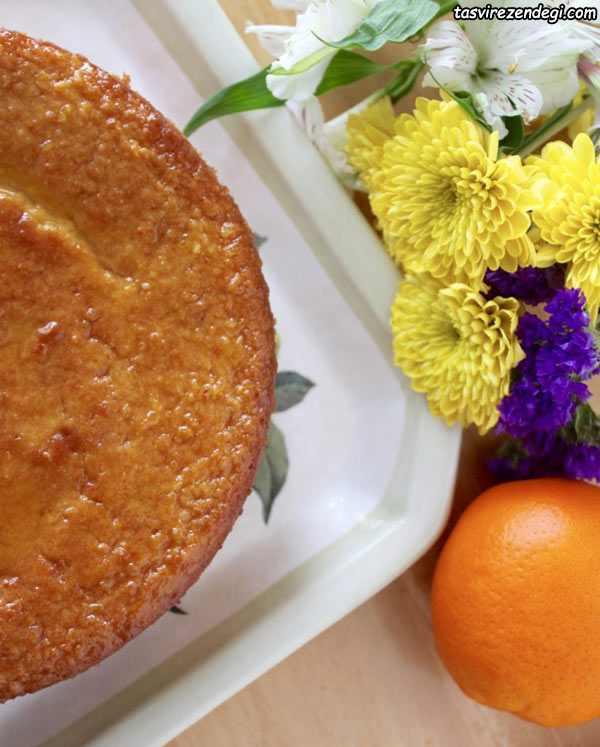 طرز تهیه کیک پرتقالی سیسیلی